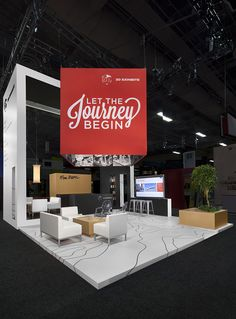 3D Exhibits @ EXHIBITOR 2014 Las Vegas #tradeshow #booth #design www.3dexhibits.com