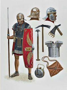 Sean O' Brogain - Legionario del Imperio Romano, 69-161 dC.