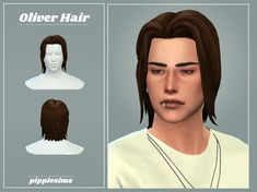 Sims 4 Hair Male, Sims Hair, Male Hair, Sims 4 Cc Packs, Sims 4 Mm Cc, Sims Videos, Sims Stories, Pelo Sims, Sims 4 Blog