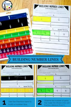 Teach fractions using hands-on activities that incorporate fraction bars and math models. Download this FREE fraction number line printable to get started now. Great for 3rd and 4th grade students.
