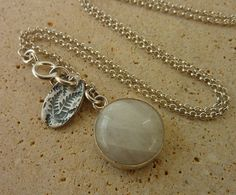 Moonstone statement necklace   Moonstone jewelry  by anakim, $95.00