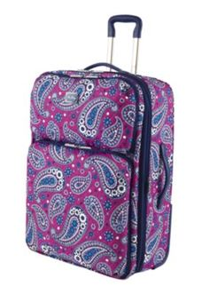 Vera Bradley Luggage!!! So great to easily spot your bag coming down the 9a14eb3f06369