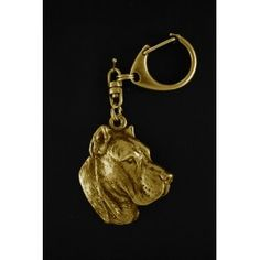 Keyring gilded with gold trial 999