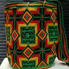 Medio punto mochila wayuu