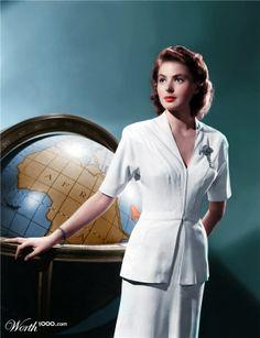 """Pleasantville: Classic Movies - Ingrid Bergman. """"Casablanca"""""""