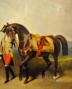 Alfred De Dreux - The Emperor's Horse, 1853 at the Virginia Museum of Fine Arts (VMFA) Richmond VA