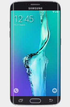 Galaxy S6 edge+: The Galaxy S6 edge + comes in 32GB & 64GB. Double tap the Home button to launch the 16–megapixel rear–facing camera. Wireless charge. 25hr usage. ((Non-removable battery)) 5 mp front face camera.