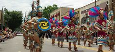 Folkmoot FestivalParade of Nations. A two week celebration (July) in Asheville NC and nearby cities.