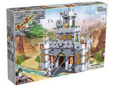 Castelo Medieval 988 Peças - BanBao com as melhores condições você encontra no…