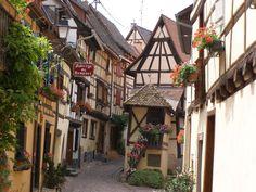 Medieval Village, Equisheim, France
