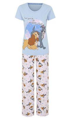 ec5c08005d8d Disney Lady and the Tramp Pyjama Set