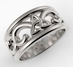 Trinity Design Ring print model ring rings, available in OBJ, STL, ready for animation and other projects Ring Designs, 3d Printing, Rings For Men, Models, Jewellery, Beautiful, Rings, Earrings, Men Rings