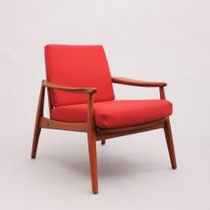 Cocktailsessel 70er  Teak Sessel, Mid Century scandinavian danish Easy Chair 60er 70er ...
