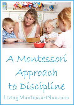 Un Enfoque Montessori de Disciplina