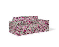 Sofá Kappa 2 Lugares Neon Letras Pink - Sofás na Oppa # Oppa