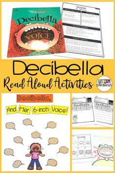 Decibella by Julia Cook. Behavior Basics Book Club Curriculum for students with special needs and autism.