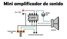Circuito Diagrama de un Mini amplificador de sonido casero, yo los probe con unas bocinas de estereo desde hace 2 años y hasta ahora me ha rendido bien. Eso si hay que buscar la carcasa para proteger el circuito. #Compartir no... - Taringa!