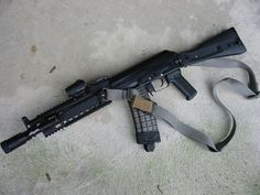 Tactical AK-47, with some minor adjustments this could be super cool