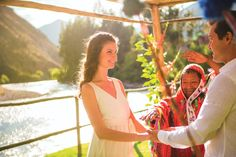 Looking for somewhere extraordinary to tie the knot? Have a shaman host your ceremony at Belmond Hotel Rio Sagrado in Peru's beautiful Sacred Valley.