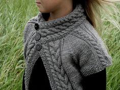KNITTING PATTERN Cardigan - PDF Knit pattern Adult Cardigan - Knitting pattern Sweater