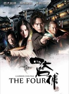 DOWNLOAD FREE MOVIES: The Four (2012) 350MB BRRip 480p Dual Audio ESubs