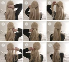 Hair tutorial: Two simple knot half up-dos | Grace and Braver