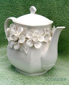 Godinger Tea Pot   by dog.happy.art