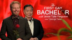 The Bachelor finally premieres its first gay season w/ gay bachelor Bryden (Modern Family's JesseTyler) & host George Takei [VIDEO]