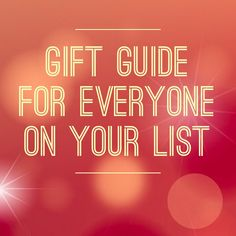 Holiday Gift Guide everyone on your list, including tweens and teens. Affordable gifts for the whole family.
