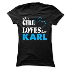 Nice T-shirts  This Girl Love Her KARL ... 999 Cool Name Shirt   at (3Tshirts)  Design Description: If you are KARL or loves one. Then this shirt is for you. Cheers !!!  If you don't completely love this Shirt, you'll be able to SEARCH your favorite... -  #camera #grandma #grandpa #lifestyle #military #states - http://tshirttshirttshirts.com/lifestyle/best-t-shirts-this-girl-love-her-karl-999-cool-name-shirt-at-3tshirts.html