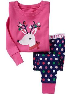 Reindeer PJ Sets for Baby | Old Navy - Madi - 12-18mo