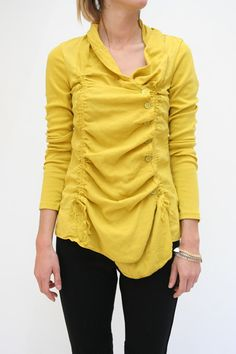 Prairie Underground Mothette Blouse - not my color but I love the style of the blouse