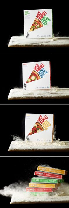 Holy Napoli is Not Your Mom's Frozen Pizza — The Dieline | Packaging & Branding Design & Innovation News