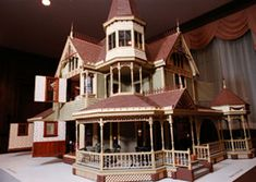 A VICTORIAN DOLL This miniature house built by Gordon Rutherford, the director of Facilities Services, will be on display through Jan.