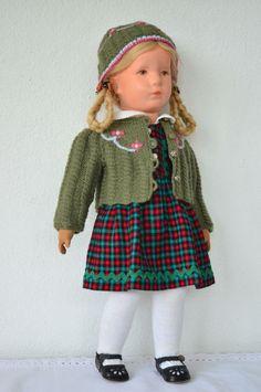 alte  Käthe  Kruse Puppe  in Antiquitäten & Kunst, Antikspielzeug, Puppen & Zubehör   eBay!