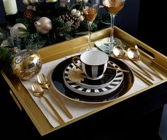 Luxury tableware by Paul Costelloe Living, exclusively at Dunnes Stores Christmas Tablescapes, Home Collections, Ireland Christmas, House Design, Luxury, Tableware, Irish, Interiors, Link