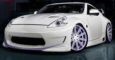 Nissan by Vossen Wheels - oldridez Nissan Z Cars, Nissan 370z, Jdm Cars, Japanese Sports Cars, Vossen Wheels, Nissan Infiniti, Truck Wheels, Bike Wheel, Custom Wheels