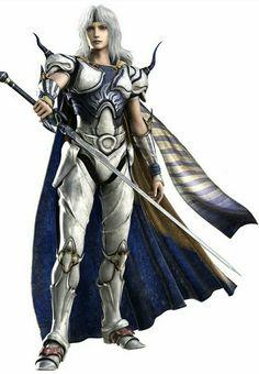 Cecil Harvey from final fantasy iv