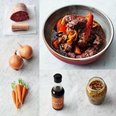 Vláčné hovězí na hořčici , Foto: Jamie Oliver / 5 ingrediencí