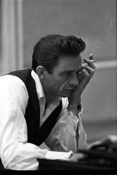 """Sometimes I am two people. Johnny is the nice one. Cash causes all the trouble. They fight.""  ― Johnny Cash"