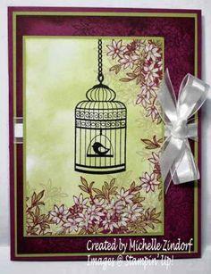 Builder Birdcage – Stampin' Up! Card