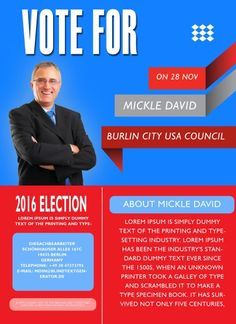 election flyer ideas