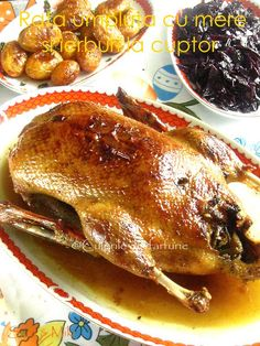 Romanian Food, Romanian Recipes, Cordon Bleu, Steak, Turkey, Yummy Food, Chicken, Cooking, Salads