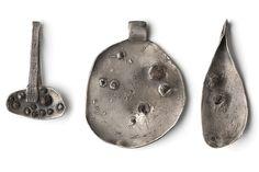 """Rose garden"" silver 925 oxidized, garnet from South Tyrol by Gabi Veit."