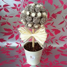 Make Your Very Own Sweetie Tree That Looks Good Enough To Eat Chic Ideas Pinterest Sweet Trees And Centerpieces