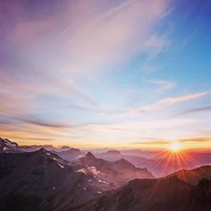 Breathtaking view from the top of Schilthorn!