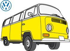 VW Camper Van (vectorial)   Motor   Pinterest   Vw, Vw camper vans and Vw bus