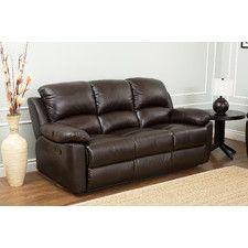 Westwood Leather Reclining Sofa