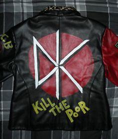 Dead Kennedys, Punk Jackets, Studded Leather Jacket, Jean Vest, Pin Art, Punk Rock, Motorcycle Jacket, Grunge, Metal
