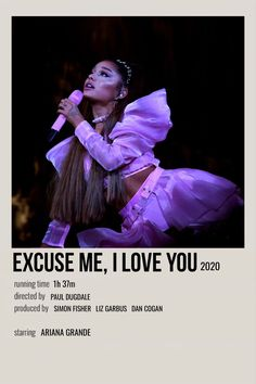 Ariana Grande Movies, Ariana Grande Ft, Ariana Grande Poster, Ariana Grande Photoshoot, Ariana Grande Pictures, Loving You Movie, Love You, Ariana Geande, Film Poster Design